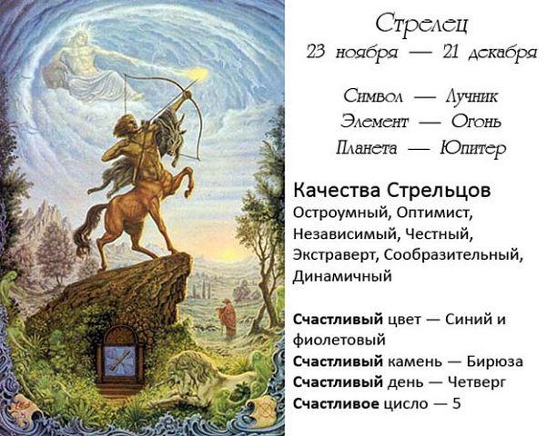 гороскоп для стрельца дракона на январь 2017