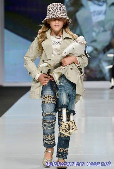 Детский показ мод 2015 в Москве ♥ Одежда для девочек лето 2015 Pride  Production ♥ Модные 1982bb6affe